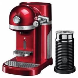 KITCHENAID 5kes0504eca Rosso Mela Macchina Da Caffe` Espresso + Nespresso Garanzia Italia
