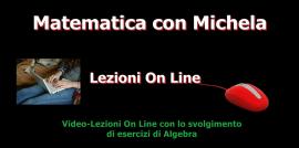 Lezioni on line di Algebra