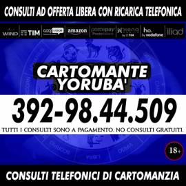 Yoruba' legge i tarocchi - Il consulto è di tipo telefonico