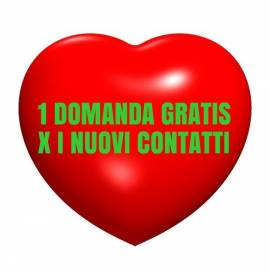 SENSITIVO 1 DOMANDA IN REGALO GRATIS carteroma@virgilio.it