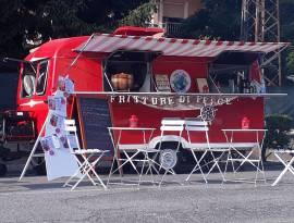 Caravan vintage per streetfood