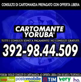 Chiama il CARTOMANTE YORUBA' per una consulenza esoterica al telefono a basso costo!