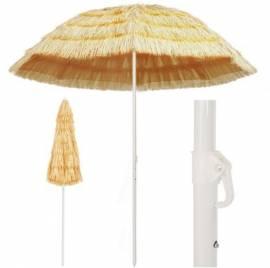 Ombrellone da Spiaggia 240 cm in Stile Hawaiano