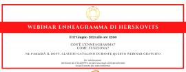 """Webinar Gratuito """"Enneagramma di Herskovits"""""""