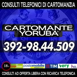 Il Cartomante YORUBA' è presente on line dal 2007