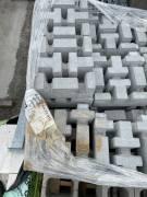 Pavimento drenante in massello di cemento