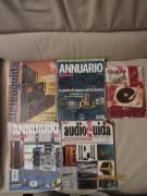 blocco 5 riviste Audio usate, Annuari