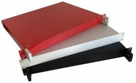 """Cassetto subrack 19"""" per elettromeccanica ed elettronica, in alluminio"""
