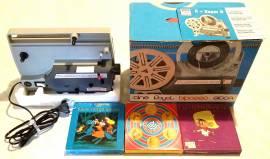Proiettore Gioca Royal Professional 8 + Super8 nuovo scatola e libretto+3 film