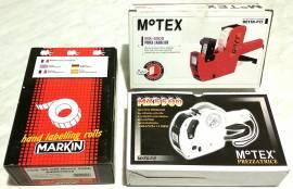 2 Kit Prezzatrice MOTEX MX-5500 + 13 Rotoli Etichette nuovo con scatola