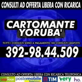 Il consulto con il Cartomante Yorubà sono a pagamento con offerta