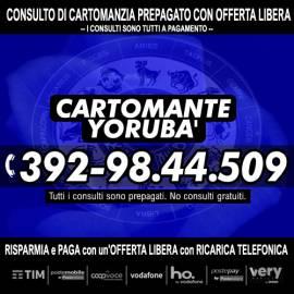 Un consulto di Cartomanzia con il Cartomante YORUBA' è veramente alla portata di tutti!