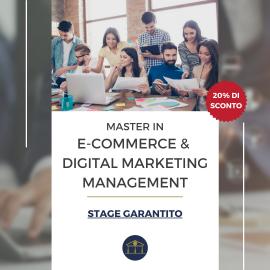 Master in E-Commerce & Digital Marketing Management