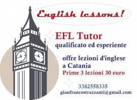 Lezioni Inglese Catania