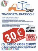 Traslochi e trasporti da 30€