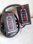 Avvisatore sonoro e luminoso per cintura di sicurezza