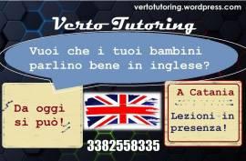 Lezioni Inglese bambini Catania