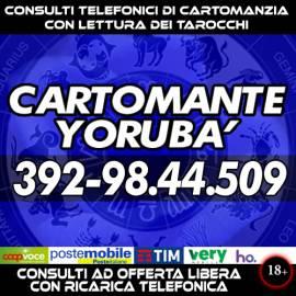 Non solo lettura dei Tarocchi … c'è di più! ...Richiedi ora un consulto di Cartomanzia con YORUBA'
