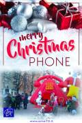 CARTOON CHRISTMAS PHONE