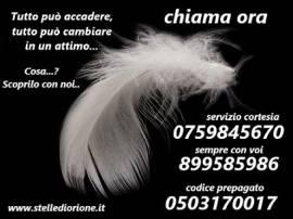 centro di cartomanzia professionale...CHIAMA 899585986 oppure postepay 075/9845670