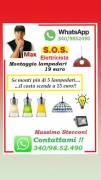 Montare lampadario Monteverde Portuense a Roma