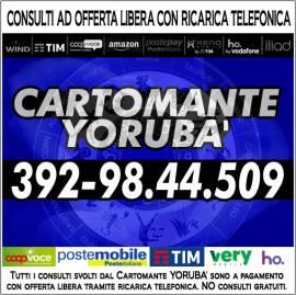 Il Cartomante YORUBA' non vende illusioni ma solidi responsi!