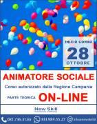 Corso Animatore Sociale - Parte teorica On-Line