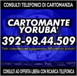 I Tarocchi di Yoruba'...chiama per un consulto di Cartomanzia con offerta libera