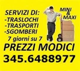 ROMA SGOMBERI GRATIS ABITAZIONI UFFICI BOX CANTINE LOCALI 7GG SU7
