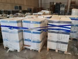Scatole polvere verniciante e materiale per impianto verniciatura
