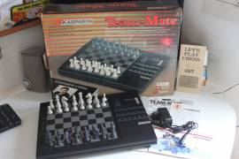 VINTAGE Saitek Kasparov Team Mate funzionante con scatola usata