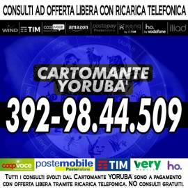 La lettura dei Tarocchi con un consulto di Cartomanzia - il Cartomante YORUBA'