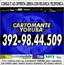 La Vera ed Autentica Cartomanzia è solo quella con Offerta: il Cartomante YORUBA'