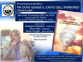 """""""FIN DOVE GIUNGE IL CANTO DELL'IPERBOREO"""" (presentaz. libro di Nicola Feruglio a Roma)"""