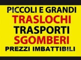 PICCIURRO G.PPE TRASLOCHI TEL 389/8719568 SGOMBERI IMMEDIATI SERVIZIO AUTOSCALA