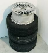 4 cerchi AUDI 225-50-17 + 2 gomme Michelin - omaggio n°4