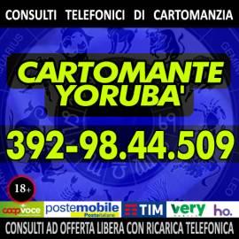 Chi ti offre un consulto di Cartomanzia con l'offerta libera? Yorubà il cartomante lo fa!!!