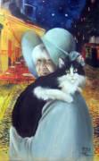 Ritratto dipinto olio acrilico da fotografia quadro idea festa papà compleanno battesimo