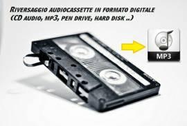 Trasferimento audio da Musicassetta a USB