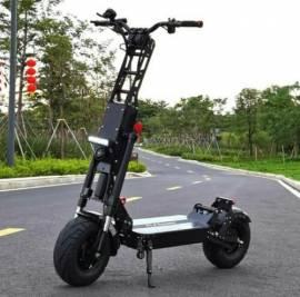 Scooter Eléctrico 6000W FLJ K6 / 60V / Velocidad Max. 100 - 120Km/h