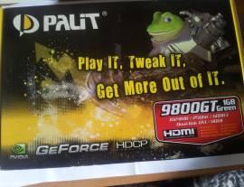 Scheda video Palit GeForce 9800 GT Memoria video: 1GB.