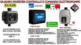 RIPARAZIONE VENDITA E ASSISTENZA INVERTER EBARA,DAB,ITALTECN PER POMPE