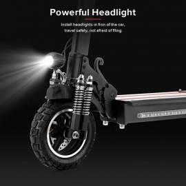 """Scooter elettrico fuoristrada pieghevole per adulti 10 """"con sedile 13AH 45KM/ H"""
