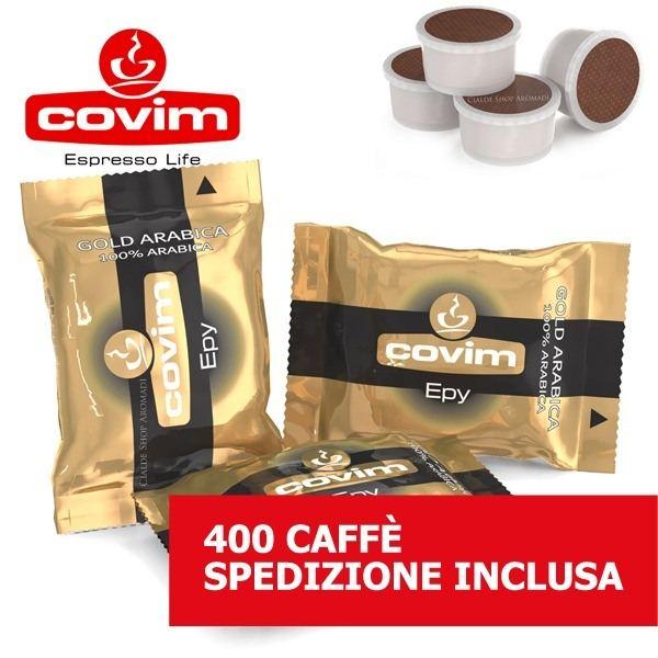 400 CAPSULE ESPRESSO POINT COVIM GOLD ARABICA