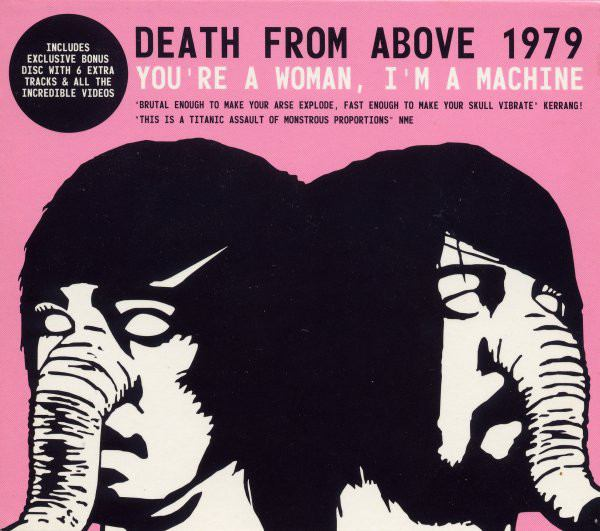 CD DEATH FROM ABOVE 1979 YOU'RE A WOMAN I'M A MACHINE NUOVO ORIGINALE