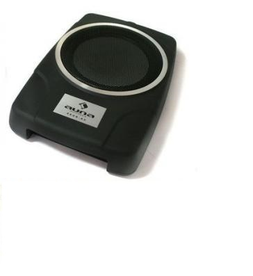 Subwoofer Auto Attivo Piatto Slim MBQ AW-800e 160W Car Hi Fi Stereo