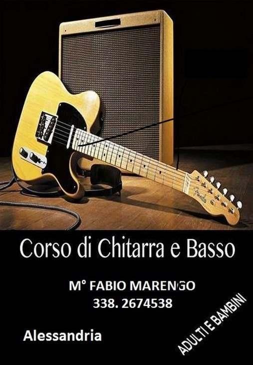 CORSI DI CHITARRA E BASSO