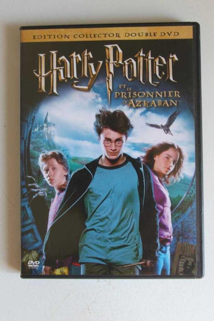 HARRY POTTER ET LE PRISONNIER D'AZKABAN COFFRET COLLECTOR 2 DVD ZONE 2 NEUF