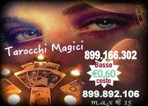 CARTOMANZIA SERIA E PRECISA  a Basso Costo 899.166.302