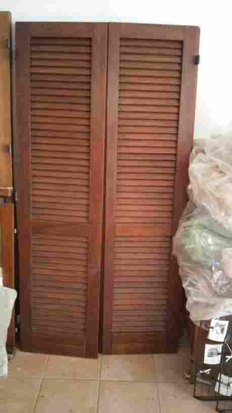 vendo finestre+persiane in legno